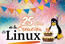 Festival Linux español / Compartir tips y momentos de las versiones de Linux.