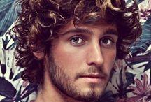 Curly hair for men