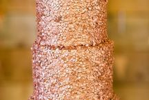 Rose Gold Cakes