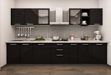 Modular Kitchen Design / Get design ideas & choose from various #modularkitchendesigns only at CapriCoast. Call us @ 1800-102-0717