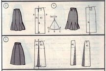 одежда, юбки, брюк, выкройки