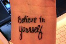 letters tatto