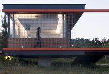 O Chafarico / Diseño de casa refugio, en San Cibrao das Viñas, Ourense