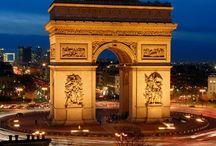 FRANCE : Paris Ville Lumière  / by Monique Robinson