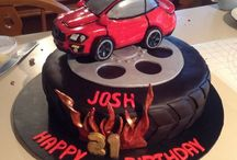 Tyre cakes holden