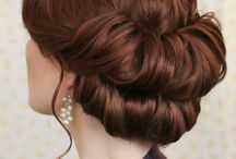Hair style for bride