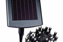 Solar LED Plant and Border Light / Light up your plants whether in a pot or along a border!