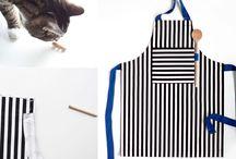 making aprons