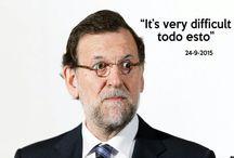Mariano dixit / un sentido homenaje a la chorrada política...