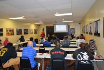 Security Guard Training / Security Guard Training for the Security D License. Students learning how to become a security professional to prepare them for security jobs in Florida