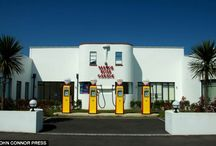 Petrol stations and pumps