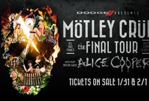 Motley Crue - November 9, 2014 / Motley Crue with Alice Cooper will bring their Farewell Tour to the iWireless Center November 9.  #RIPMotleyCrue
