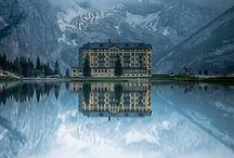"""Misurina (Dolomiti - Italy) / Crowned with the Three Peaks of Lavaredo and lying on the shores of the homonymous lake, Misurina is rightly called """"the pearl of the Dolomites""""."""