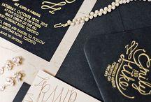 Wedding; invitations & prints etc.