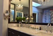 Master bathroom remodel  / by Rachel Suedkamp