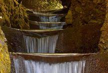 C) Vodopády