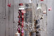 Scandi Style Christmas / A celebration of light in the dark months, natural textures and simple touches – Scandi style was made for Christmas.