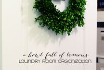 Laundry Rooms / You might love 'em. You might hate 'em. You can't avoid 'em. Make the best of 'em!