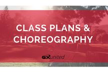 Choreo Exchange / Class plans and choreography for group exercise instructors BY group exercise instructors.