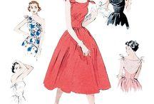 patron de couture année 50