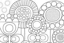 Preschool Coloring Sheets - SK Värityskuvia