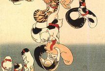 歌川国芳 浮世絵 猫づくし