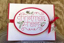 Christmas Cheer S/U Set / Christmas cards