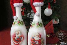 garrafas natal