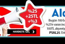 Günün Avantajlı Önerileri / #cashback #paraiadesi #indirim #kampanya #firsat #online #alisveris #superfikir #kupon