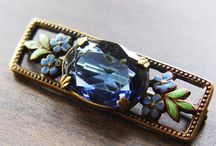 Just my vintage jewelry Finishing Touches