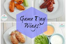 Game Day Wings & Dipping Sauce! / Celebrate the big game with these 3 types of wings and an extra sauce!