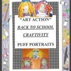Back to school / Back to School craftivity and visual art projects. If you would like to pin,  email me @ Lauriecarpe@yahoo.com.
