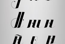 Kalligrafie/handlettering