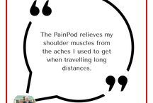 PainPod Reviews & Testimonials / Watch this space for the latest reviews and testimonials of the PainPod products. All posts are genuine and are shared with the permission of the reviewer.