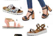 Chaussures à semelles crantées