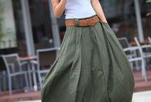 φαρδιά Ρούχα παντελόνες και φούστες! !!