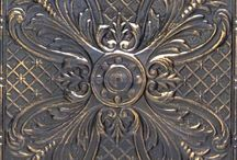 Embossing,metal work