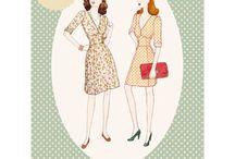 Mønster til kjoler