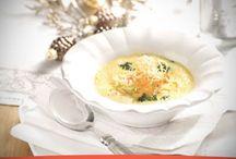 Receta de Sopa con parmesano y crujiente de verduras