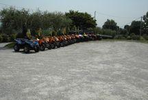 ESCURSIONI IN QUAD : I NOSTRI MEZZI / I mezzi usati per le escursioni sono performanti e robusti.