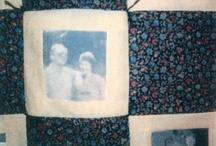 Friends Quilt / This is a picture quilt she made.