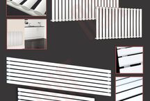Designer White Radiators