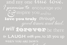 Until death do us part - Wedding vows