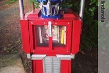 Newspaper Box Libraries / by Little Free Library