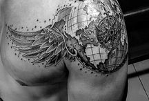Sleeve tattoo left