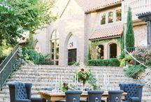 Modern Garden Wedding / Garden wedding inspiration