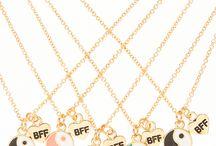 pulseiras &colares bff