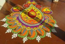 Rangoli...and festivals... Celebration time.