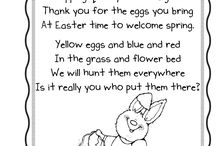 EASTER CARDS AND SPRING POEM