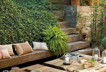 Jardin, exterieur